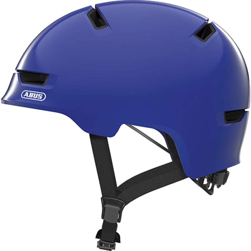 ABUS Scraper 3.0 Kid, shiny blue