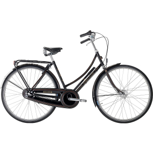 Raleigh Tourist De Luxe 7 gear Dame, Sort
